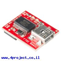 צורב Arduino - כרטיס FTDI Basic 5V