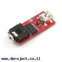 צורב PICAXE - כרטיס USB