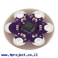 חישן תאוצה שלושה צירים +/-3g דגם ADXL335 ל-LilyPad