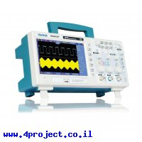 סקופ דיגיטלי שולחני Hantek DSO5102P - 2Ch/100MHz/1GSa/40K