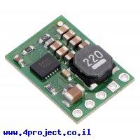 מודול ממיר מתח (מוריד) 6V/1A - דגם D24V10F6