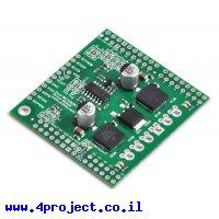 מגן Arduino - בקר לשני מנועי DC עד 28V/3A