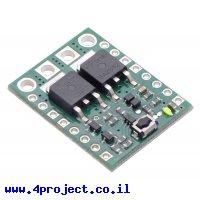 מפסק MOSFET 4.5-40V/8A - עם לחצן ומעגל נעילה