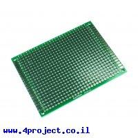 """לוח הלחמה דו-צדדי 60x80 מ""""מ"""
