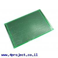"""לוח הלחמה דו-צדדי 80x120 מ""""מ"""