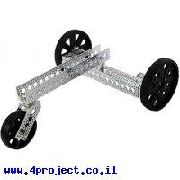 פלטפורמה רובוטית - Actobotics על 3 גלגלים