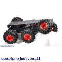 """פלטפורמה רובוטית - Wild Thumper 6WD - מנועים 160 סל""""ד"""