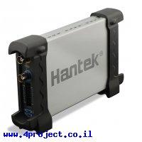 סקופ USB דיגיטלי+לוג'יק Hantek 6022BL - 2Ch/20MHz/48MSa/1M