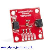 חיישן אור VEML6030 - חיבור Qwiic