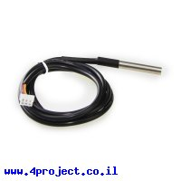 חישן טמפרטורה דיגיטלי DS18B20 מוגן מים ל-Makeblock