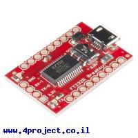 מתאם USB ל-Serial בעזרת רכיב FT232RL