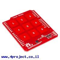 מגן Arduino לוח מקשים קיבוליים