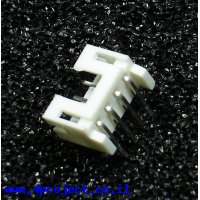 מחבר JST-PH 4 Pin בזווית - PTH