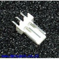 מחבר Molex 3-pin זכר - ישר