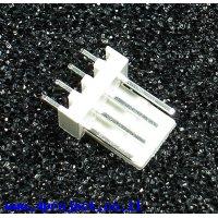 מחבר Molex 4-pin זכר - ישר