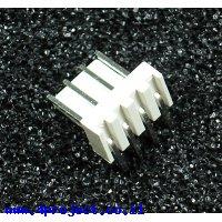 מחבר Molex 4-pin זכר - בזווית