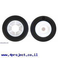 """גלגל 14x4.5 מ""""מ למנוע תת-מיקרו - זוג"""