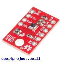 חישן לחות טמפרטורה ולחץ ברומטרי BME280