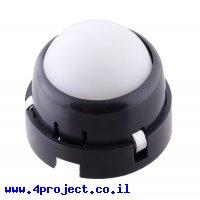 """גלגל כדורי מפלסטיק - 25.4 מ""""מ - מיסבים"""