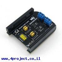 תוסף ל-BeagleBone - תקשורת RS485/CAN