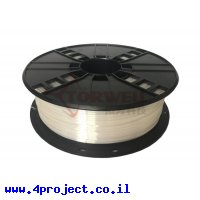 פלסטיק למדפסת 3D - לבן - BioSilk 1.75mm