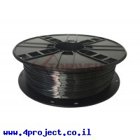 פלסטיק למדפסת 3D - שחור - BioSilk 1.75mm