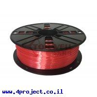 פלסטיק למדפסת 3D - אדום - BioSilk 1.75mm