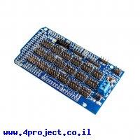 מגן Arduino Mega - לוח החישנים