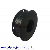 פלסטיק למדפסת 3D - שחור - BioSilk 1.75mm - אורך של 1 מטר