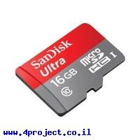 זכרון microSD - 16GB