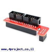 מתאם לחיבור מסך LCD לכרטיס RAMPS