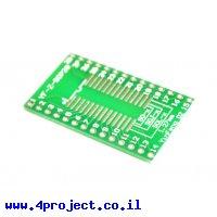 כרטיסון מתאם SSOP28 0.65/1.27mm