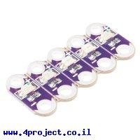 לד ל-LilyPad - ירוק - ערכה של 5 יחידות