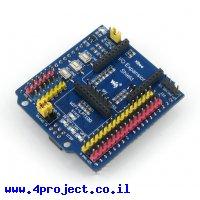 מגן Arduino - הרחבת החיבורים