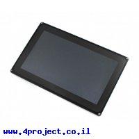 """מסך מגע קיבולי LCD 10.1"""" 1024x600, מסגרת, ממשק RGB/LVDS"""