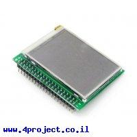 """מסך מגע LCD 2.2"""" 320x240, ממשק SPI"""