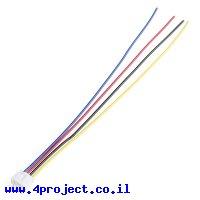 מחבר JST-PH 4-pin עם חוטים