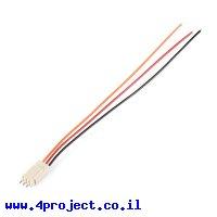 מחבר Molex 3-pin עם חוטים