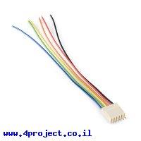 מחבר Molex 6-pin עם חוטים