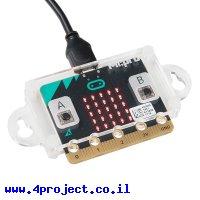 מארז ל-micro:bit מדגם MI:pro עם אוזני הרכבה