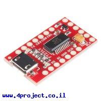 מתאם USB ל-Serial בעזרת רכיב FT231X