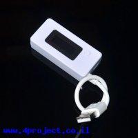 מד מתח/זרם/צריכה בחיבור USB