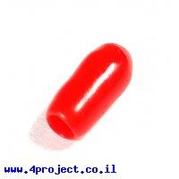 ידית גומי למפסקים קטנים - אדום