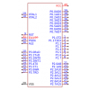 תמונה של מוצר  SyncMOS Tech International SM8952AC-25PP