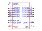 תמונה של מוצר  Cypress Semicon CY8C201A0-LDX2I