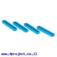 """פרופיל אלומיניום 4x12 מ""""מ - אורך 60 מ""""מ"""
