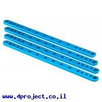 """פרופיל אלומיניום 4x12 מ""""מ - אורך 188 מ""""מ - דגם L2R1"""