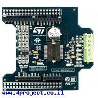 בקר מנוע צעד מבוסס על L6474 - דגם X-NUCLEO-IHM01A1