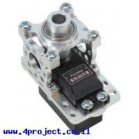 מחזיק מנוע ServoBlock™ למנועי סרוו בגודל סטנדרטי עם ציר 3F-25T - ציר ישר