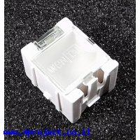 """קופסה מודולרית לאחסון רכיבים - 25x31.5x21.5 מ""""מ - לבן"""